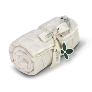 Kapok rullemadras til barnevogn 37x96 fra Cocoon Company