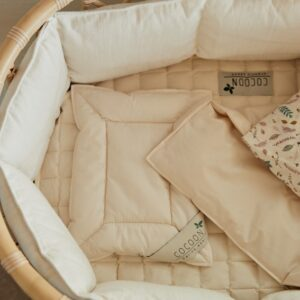 Økologisk kapok rullemadras til vugge og babyseng