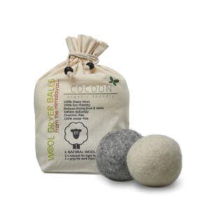 Tørrebolde med uld