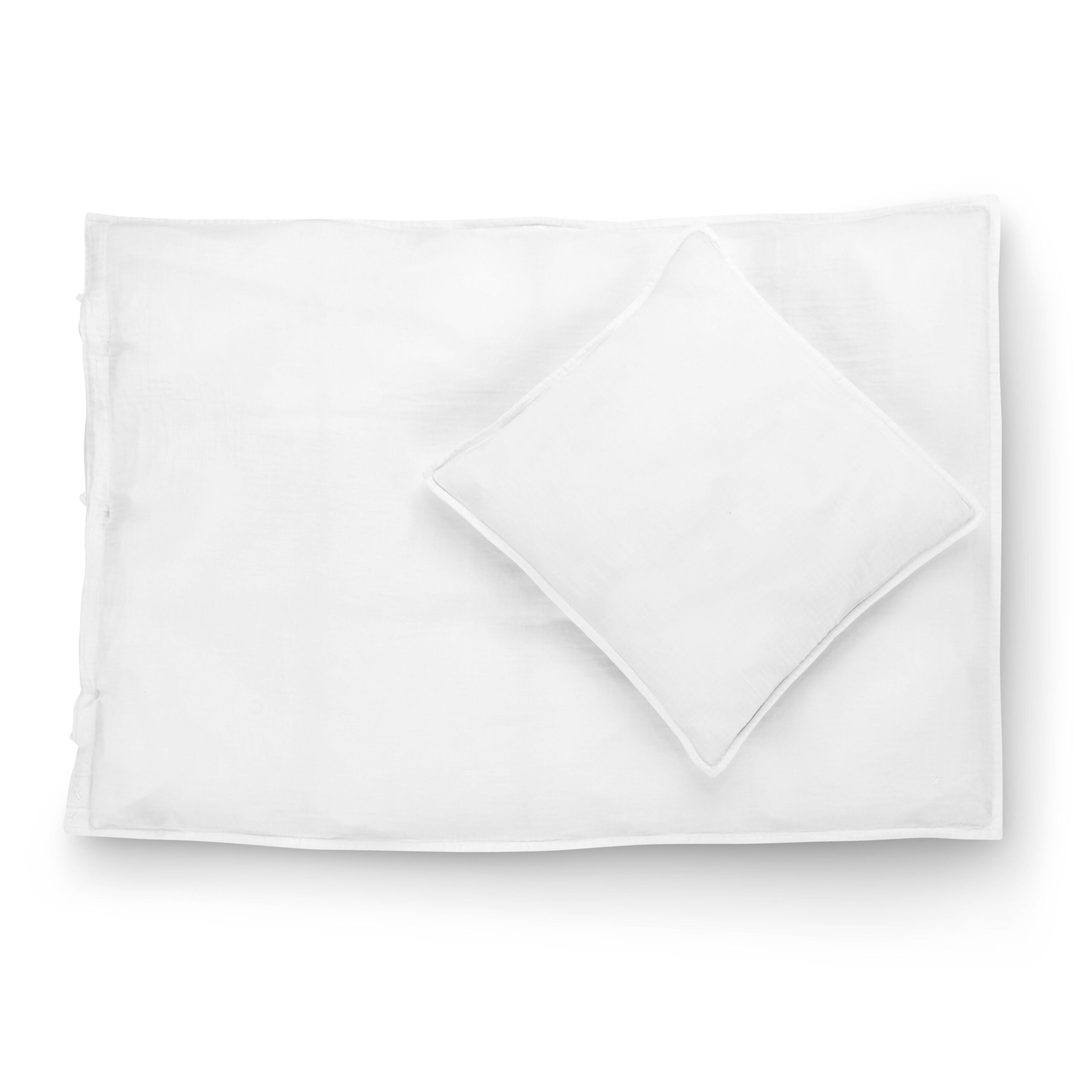 Picture of: Okologisk Polar Bear White Baby Sengetoj 40×45 70×100 Cocoon Company