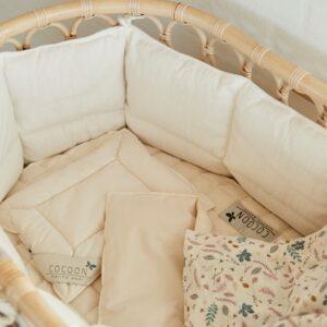 Cocoon cot bumper