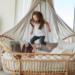 Økologisk sovemiljø med kapok