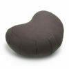 Zafu halvmåne meditationspude med kapok i farven Cool Grey fra Cocoon Company