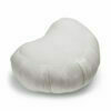 Zafu halvmåne meditationspude med kapok i Off White fra Cocoon Company